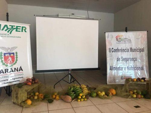 II CONFERÊNCIA MUN. DE SEGURANÇA ALIMENTAR E NUTRICIONAL REALIZADA COM SUCESSO