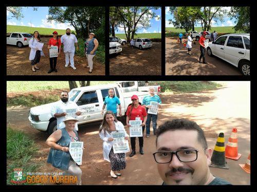 Prefeitura adota novas medidas contra o coronavírus e cria barreira sanitária na entrada da cidade.