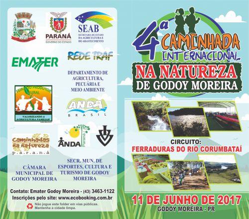 CAMINHADA NA NATUREZA DE GODOY MOREIRA
