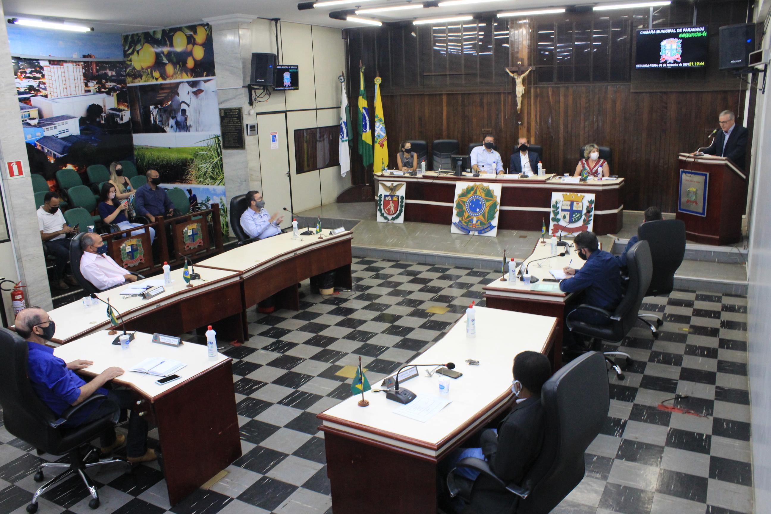 Legislativo Paranavaiense realiza primeira sessão de 2021