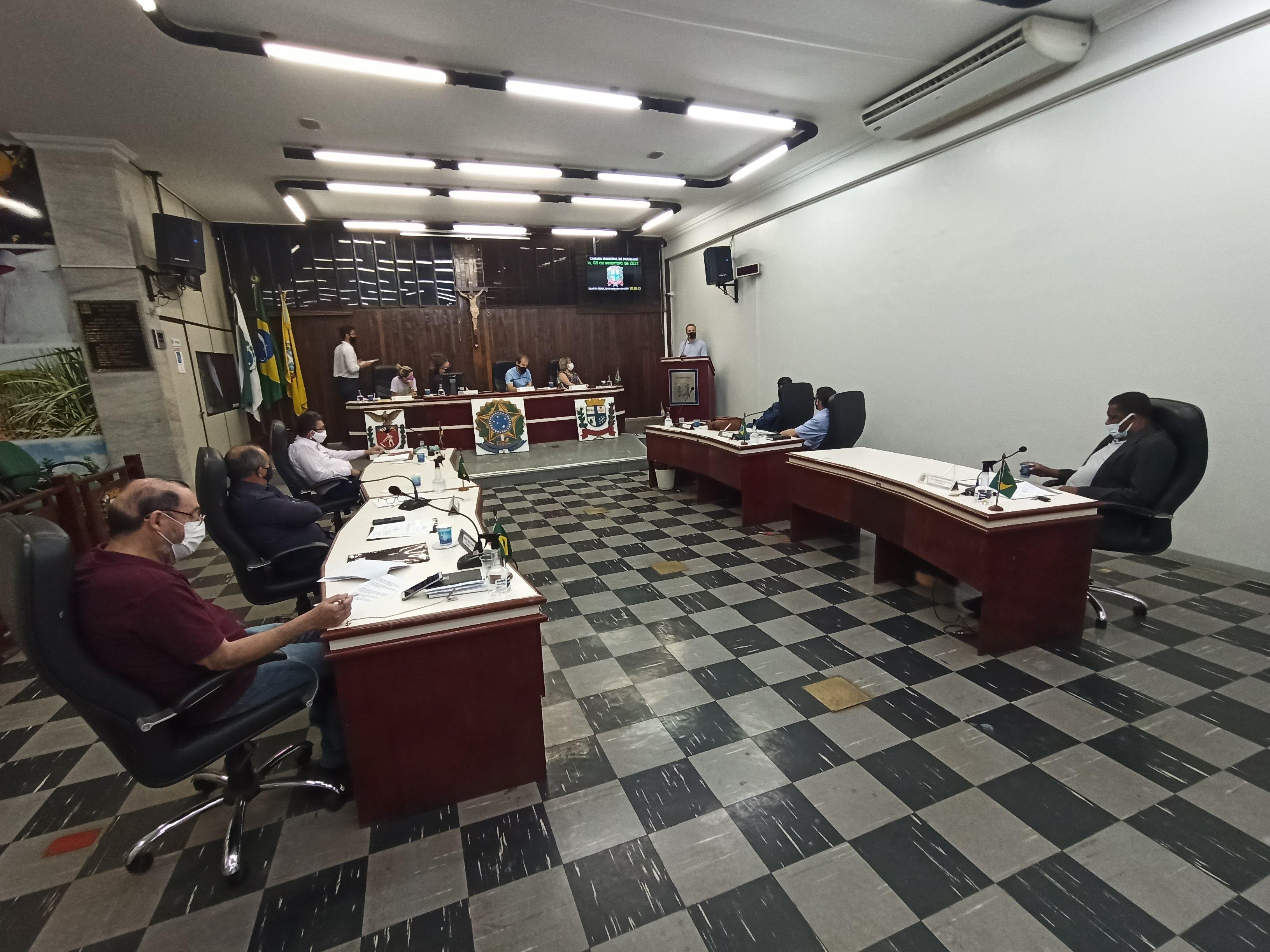 Reunião excepcional: Parlamentares manifestam parecer favorável para propostas
