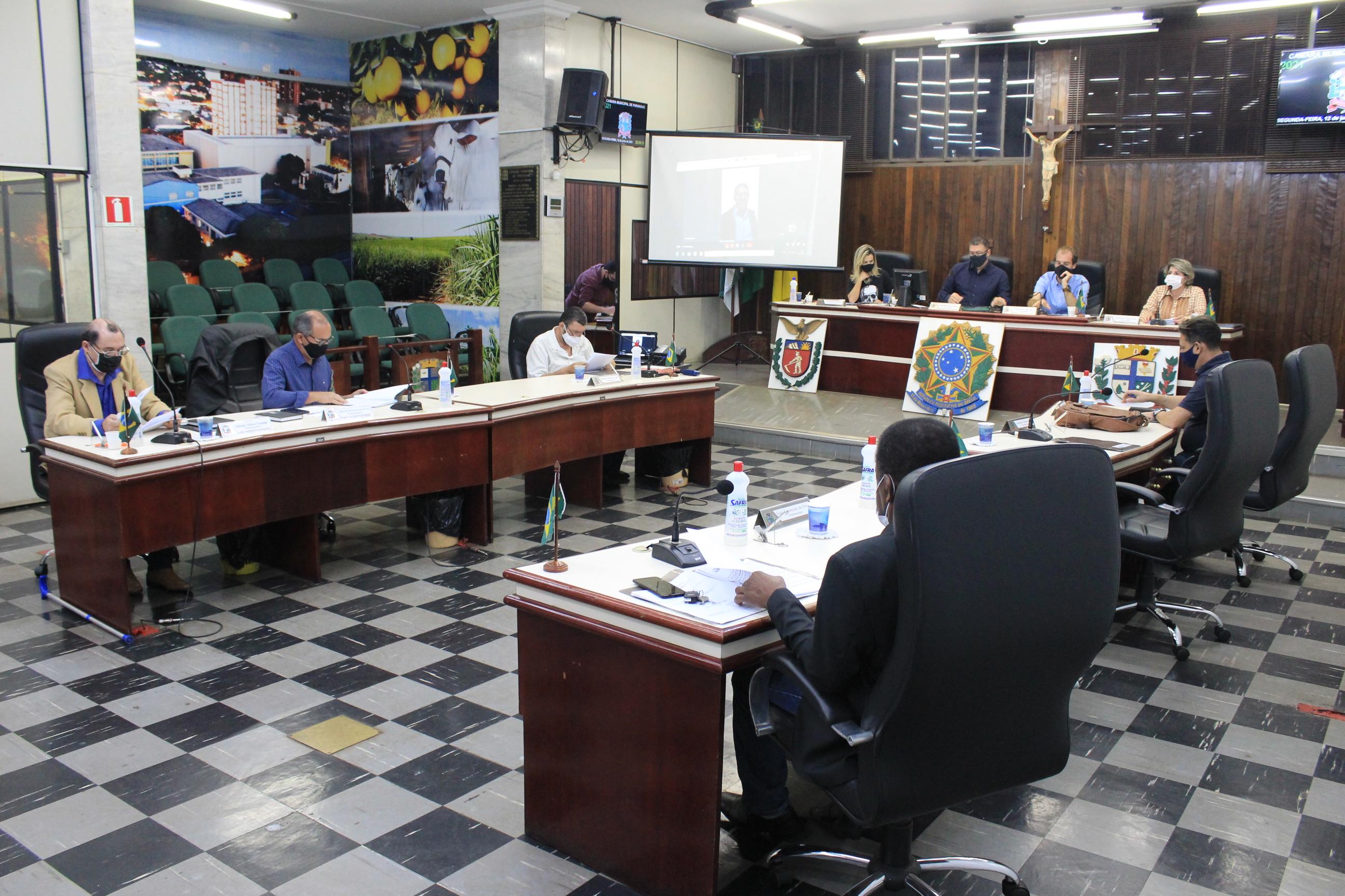 Legislativo Paranavaiense aprova inúmeras proposições