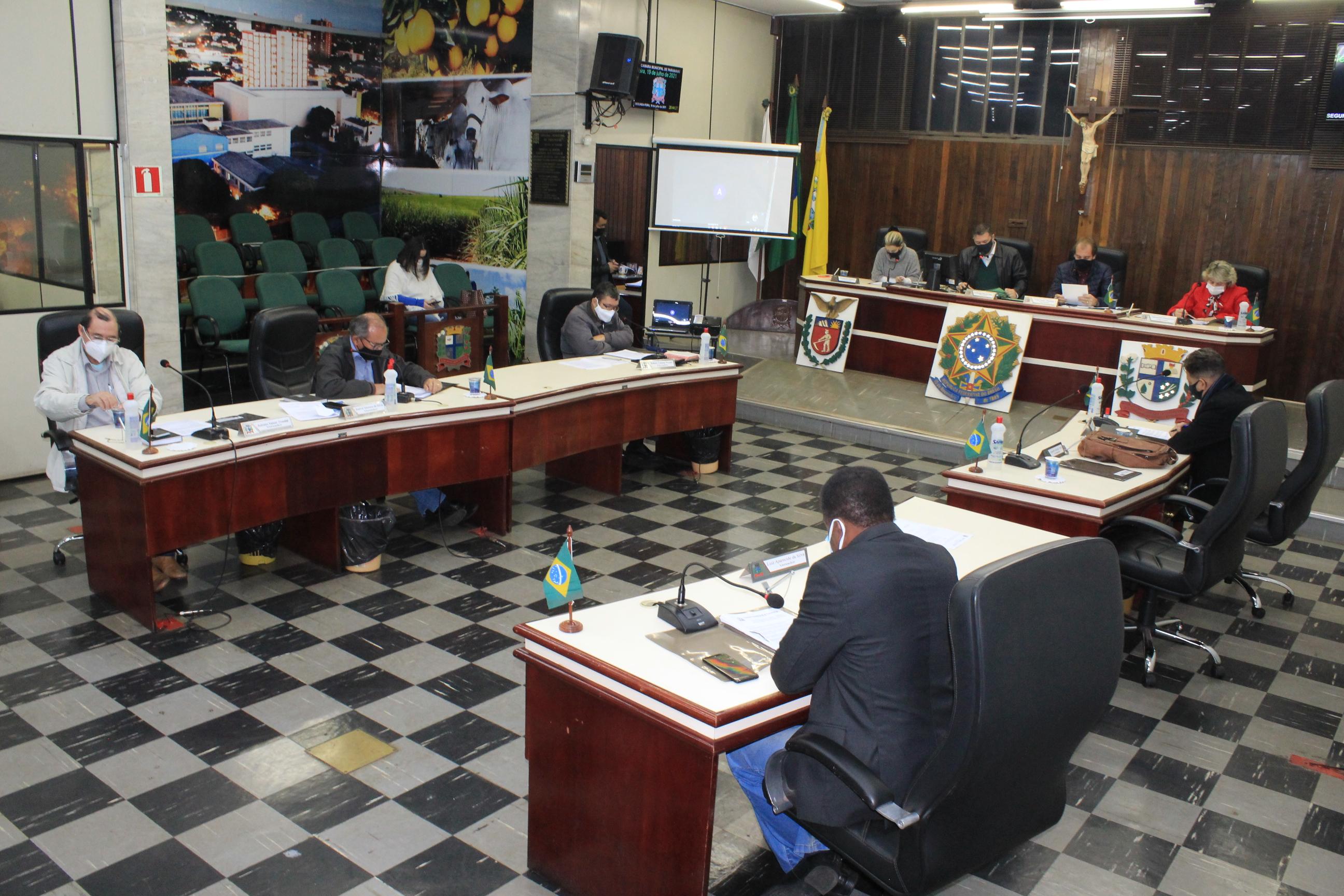 Legislativo Paranavaiense aprova pauta longa