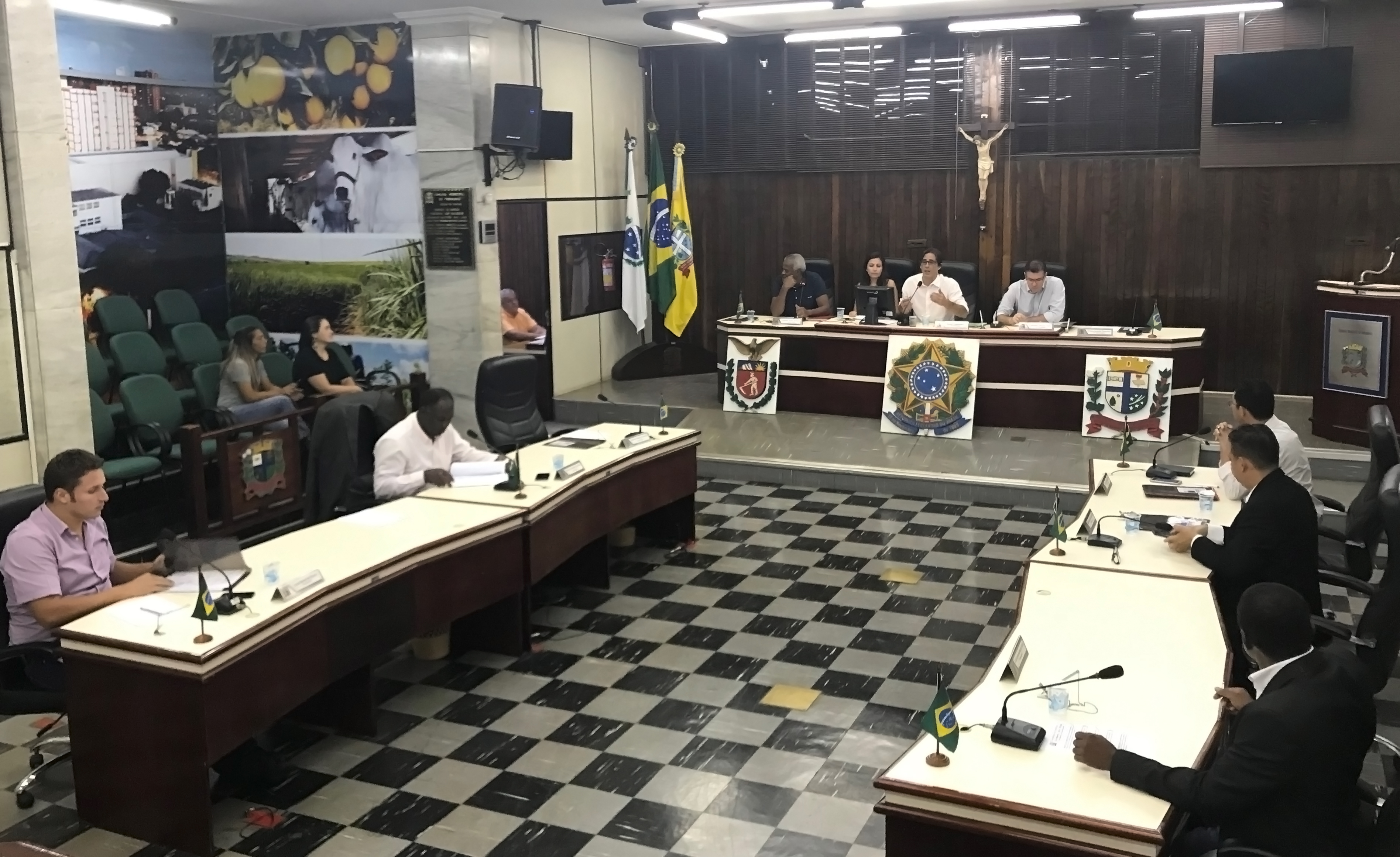 Em sessão, parlamentares da CCJ deliberam sobre projetos