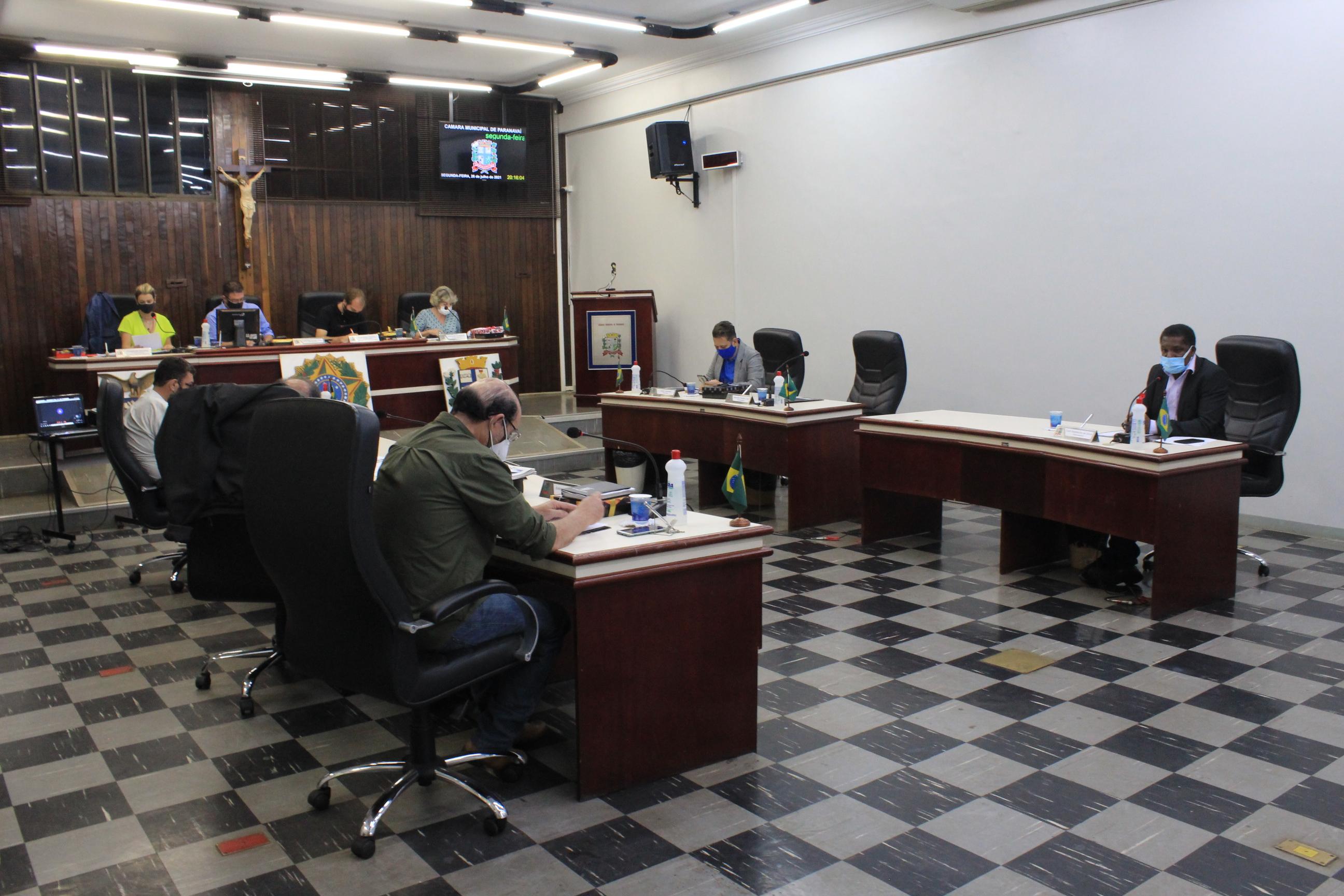 Várias proposições são aprovadas durante sessão ordinária