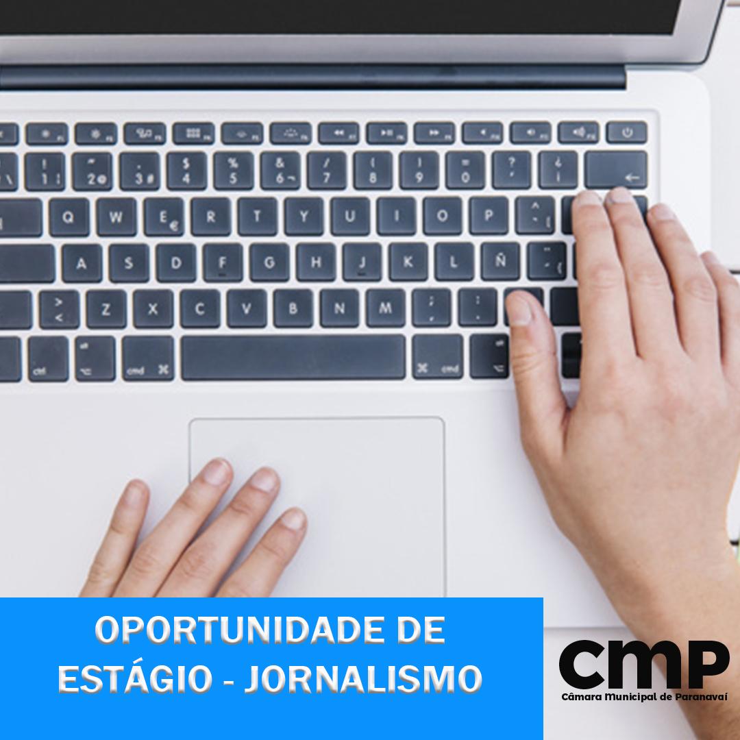 Termina nesta sexta as inscrições para a vaga de estagiário em Jornalismo