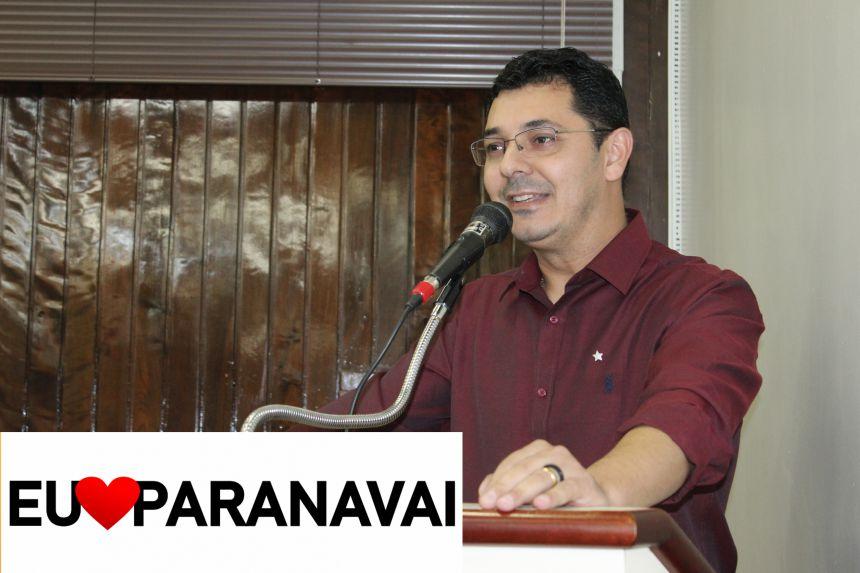 Vereador pede construção de letreiro Eu amo Paranavaí