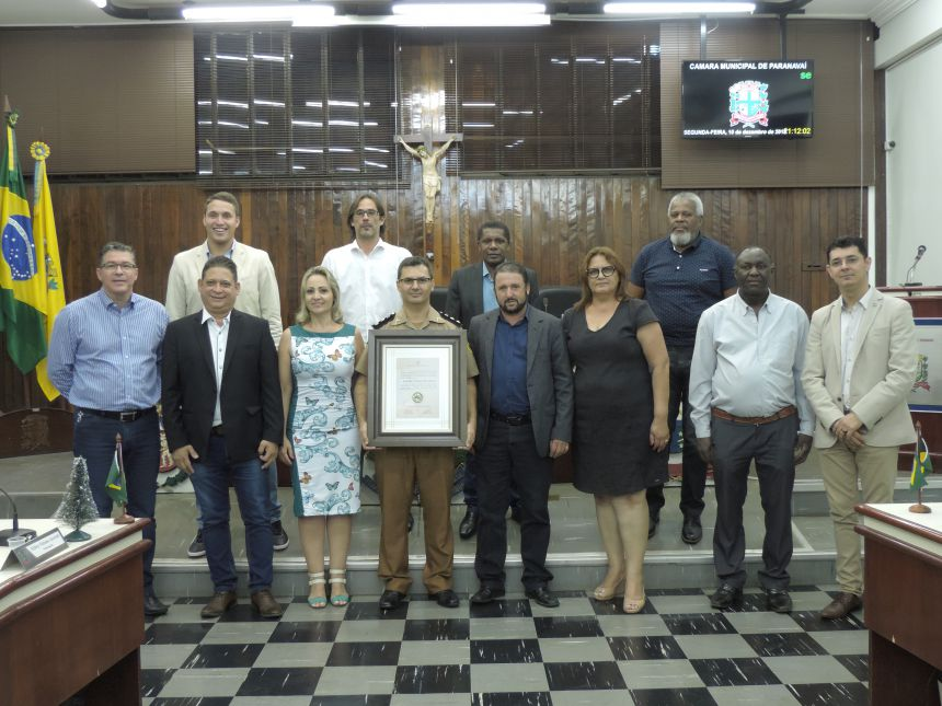 Comandante do 4º BPM é agraciado com a Medalha Dr. José Vaz de Carvalho