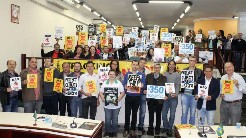 Proposição contra fracking é lida no expediente do Legislativo
