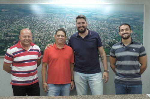 Na foto, Melo, Galvão, Américo e Hugo