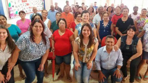GRUPO DA TERCEIRA IDADE PARTICIPA DA PRIMEIRA REUNIÃO DO ANO