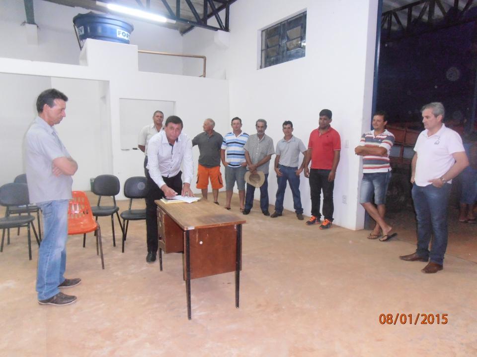 A AMERG de Guapirama recebe mais uma carreta agr�cola para atender os pequenos produtores rurais.