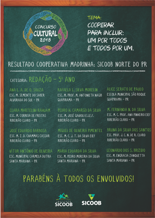 CONCURSO CULTURAL SICOOB