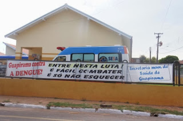 Guapirama está empenhada contra a Dengue