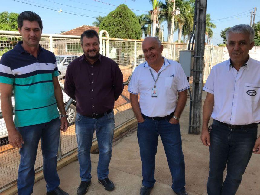 ABERTURA DO PROGRAMA COMPRA DIRETA E ENTREGA DE UM CAMINHÃO DE COLETA SELETIVA