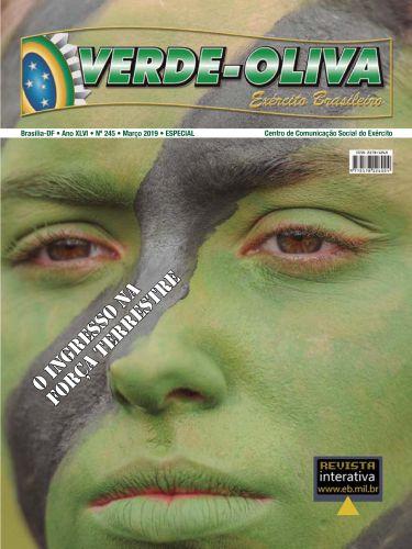REVISTA VERDE OLIVA - INGRESSE NA FORÇA