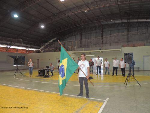 CERIMÔNIA DE JURAMENTO À BANDEIRA NACIONAL