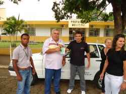 Conselho Tutelar ganha carro zero kilometro do município de Guapirama.