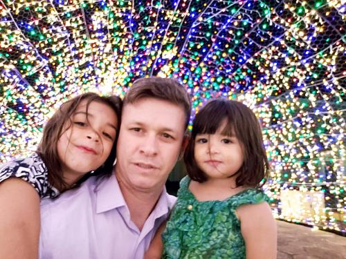 Família do nosso Amigo Dr Fábio - As meninas adoraram o túnel