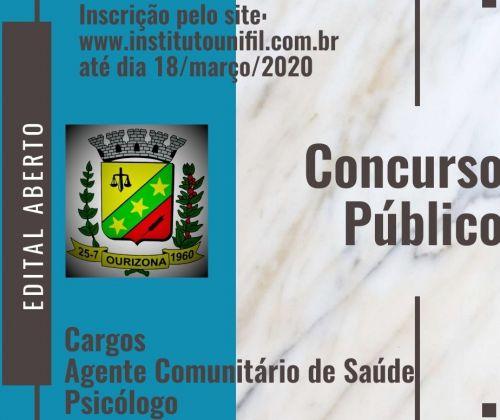 CONCURSO PUBLICO 001/2020
