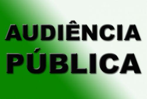 AUDIÊNCIA PÚBLICA 17/05/18 - Câmara Municipal 19:30h