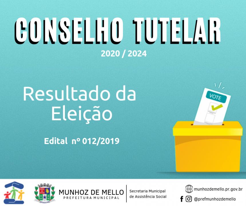 Conselheiros tutelares são definidos após a eleição deste domingo