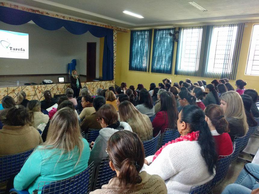 Palestra sobre a Avaliação do Plano Decenal da Educação