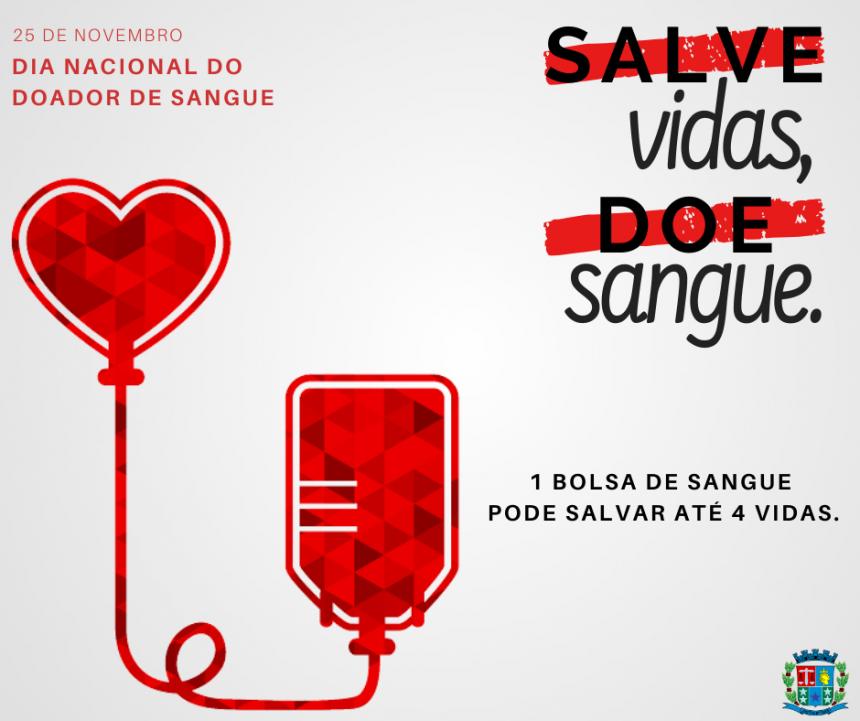 Doação de sangue salva até quatro vidas