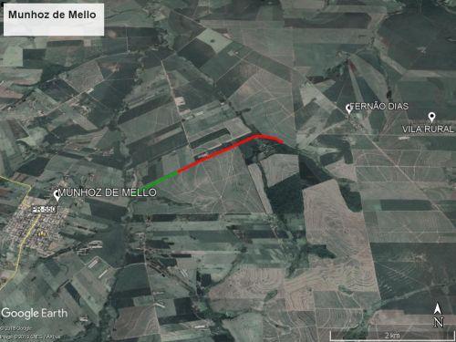 Imagem capturada via satélite / Google Earth