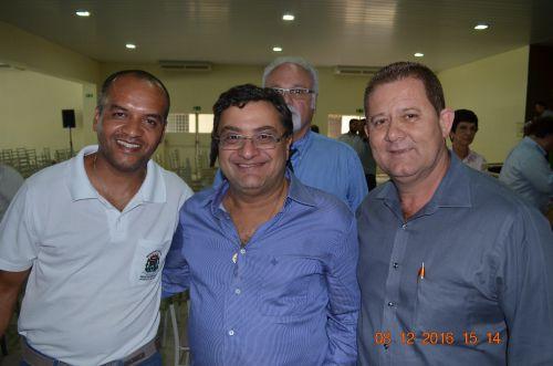 Prefeito Gera e Secretário de Saúde Mauro participam de solenidade do lançamento do serviço aeromédico do SAMU