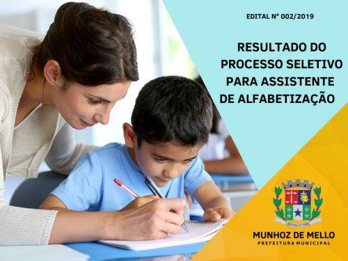 Sai o resultado do processo seletivo para assistentes de alfabetização