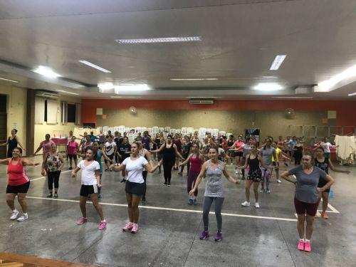 Secretaria de Cultura e Esporte promove aulas de Zumba
