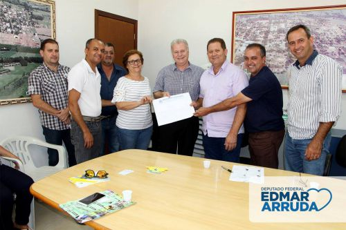 Visita do Deputado Federal Edmar Arruda
