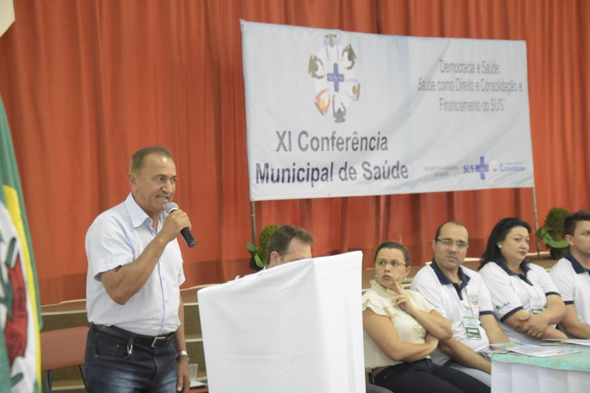 XI CONFERÊNCIA MUNICIPAL DE SAÚDE FOI REALIZADA EM CATANDUVAS.