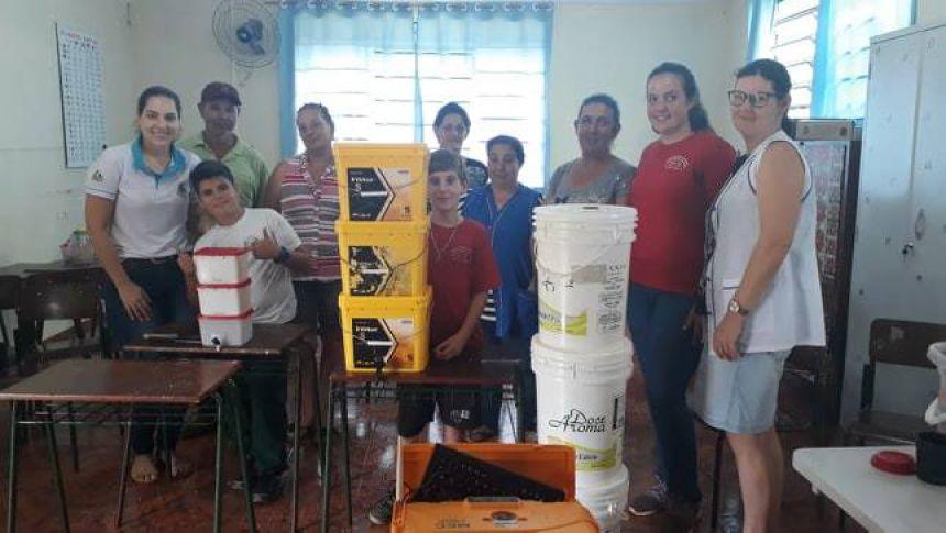 Realizadas Oficinas em Catanduvas, uma parceria entre Itaipu e o Município.