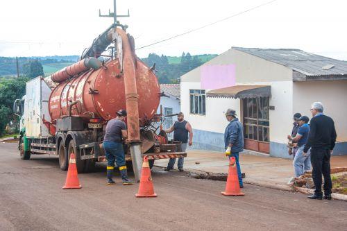 MUNICÍPIO DE CATANDUVAS CONTRATA EMPRESA ESPECIALIZADA EM DESOBSTRUÇÃO DE GALERIAS