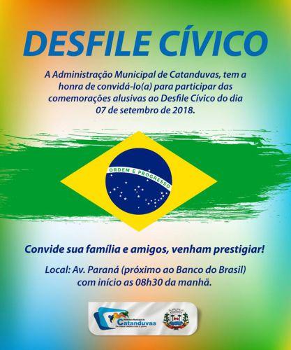 ADMINISTRAÇÃO MUNICIPAL DE CATANDUVAS CONVIDA