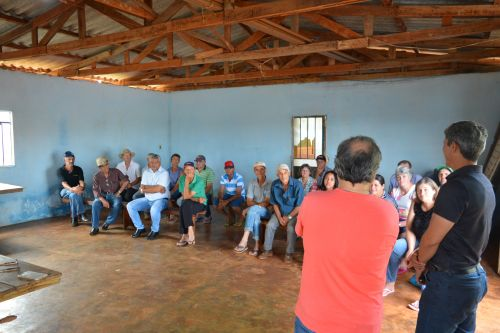 REUNIÃO PARA A FORMAÇÃO DA COMISSÃO DA ÁGUA EM NOVA COLÔNIA