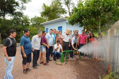 Inauguração da Rede de Abastecimento de Água da Nova Colônia.