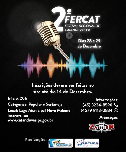 FERCAT - FESTIVAL REGIONAL DE CATANDUVAS