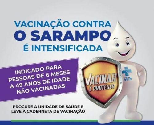 DIA D DA CAMPANHA NACIONAL DE VACINAÇÃO CONTRA O SARAMPO ACONTECE NESTE SÁBADO