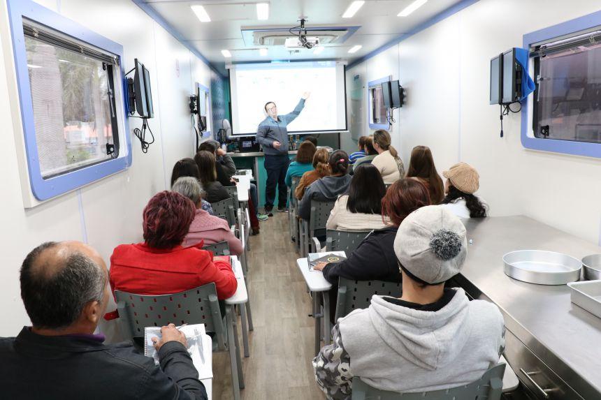Cursos de Formação Profissional são concluídos em Pérola