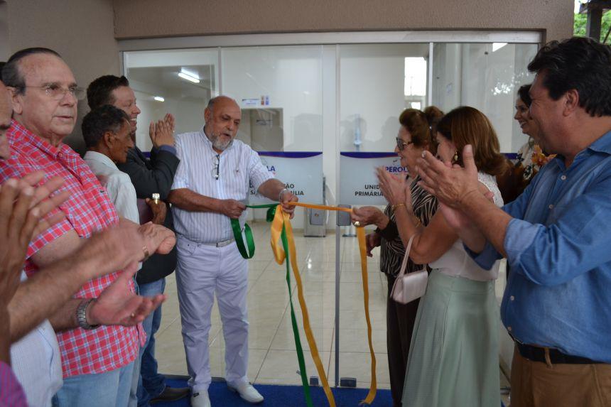 Unidade de Atenção Primária à Saúde da Família é inaugurada em Pérola