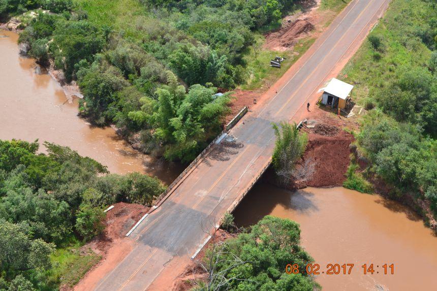 Liberação da Ponte sobre o Rio Xambrê