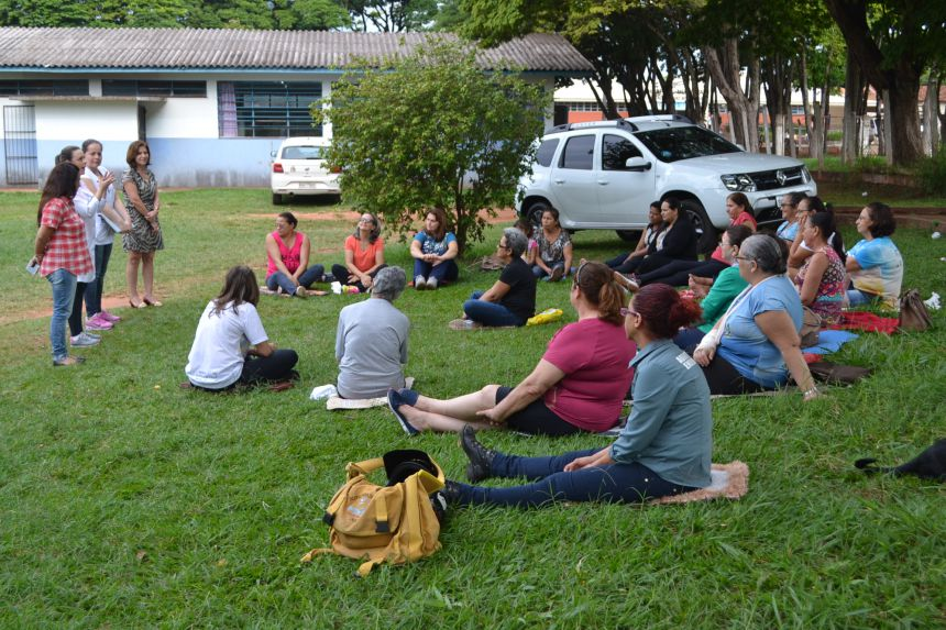 Homenagem Ás Mães do Grupo de Apoio aos Fibromialgicos