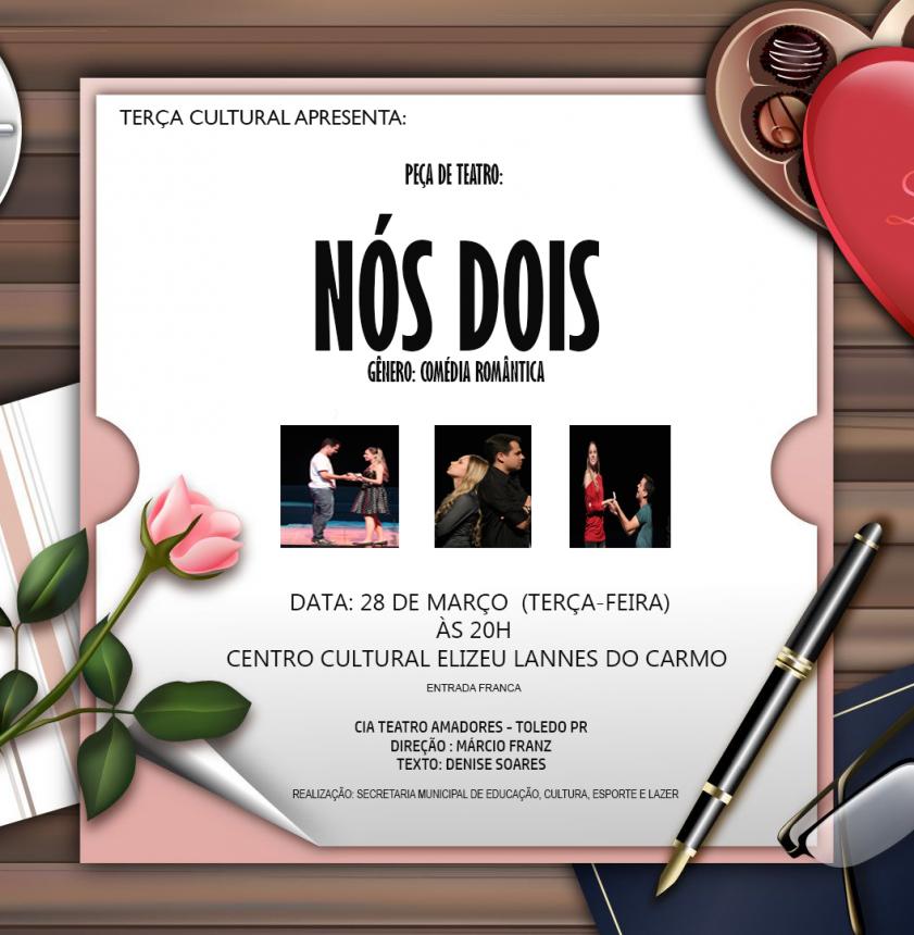Peça de Teatro Nós Dois (gênero romântica)