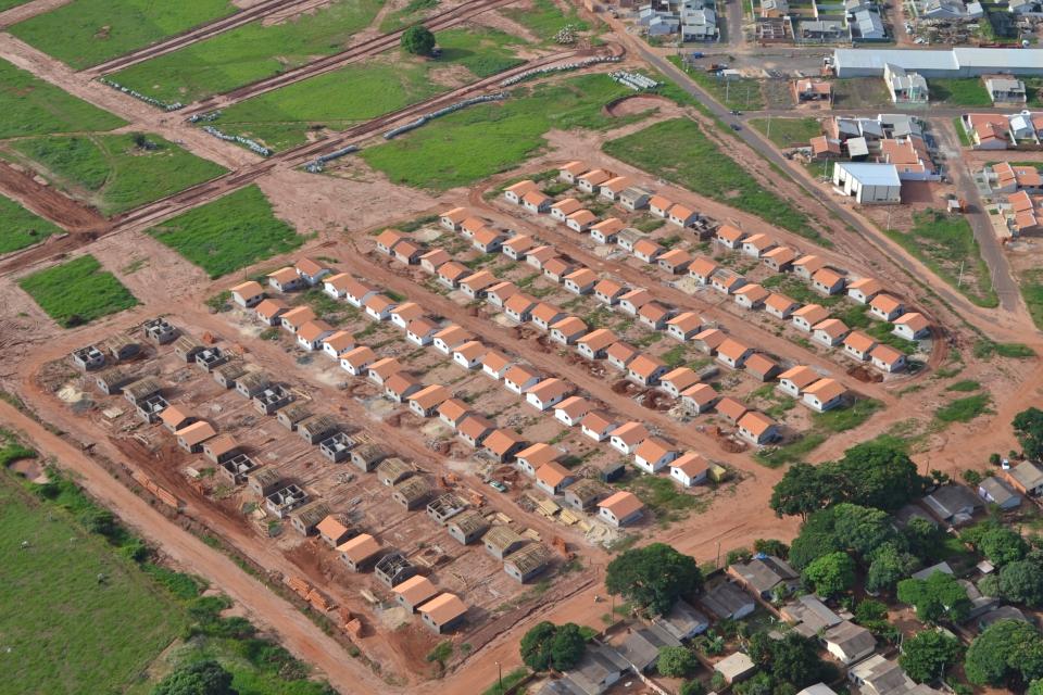 Projeto habitacional no Município de Pérola