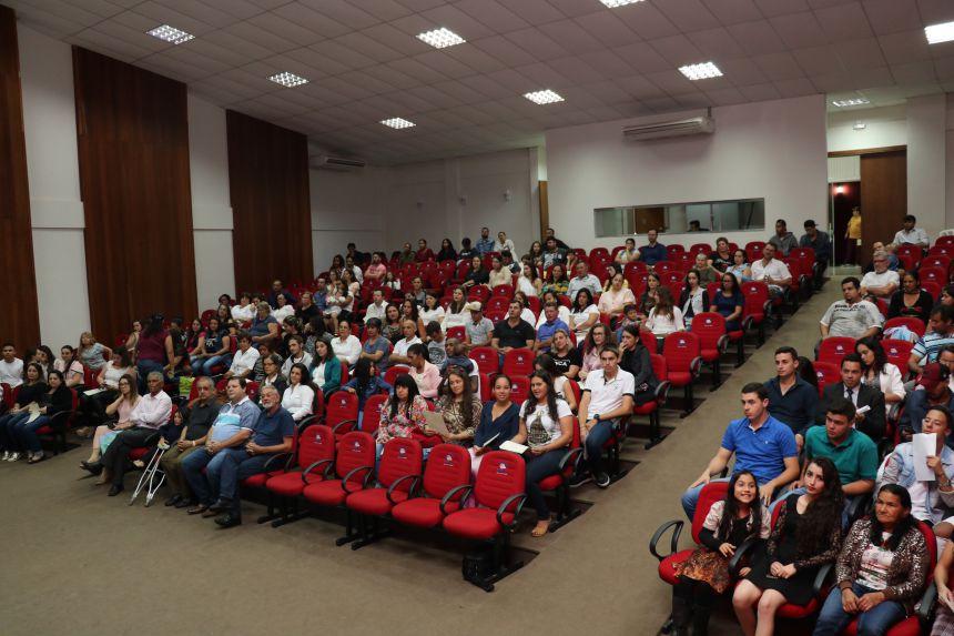 Formandos dos cursos do SENAI são diplomados em Pérola
