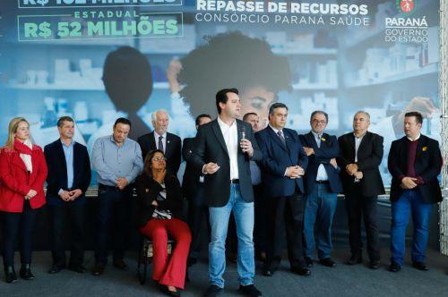Consórcio Paraná Saúde recebe R$ 154 milhões para  compra de 164 medicamentos básicos em 2019 e 2020