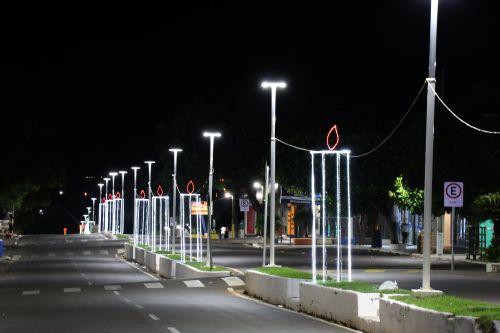 Cidade de Pérola celebra a magia do Natal